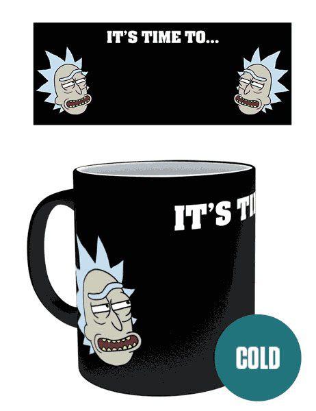 Rick and Morty Tasse mit Thermoeffekt Get Schwifty