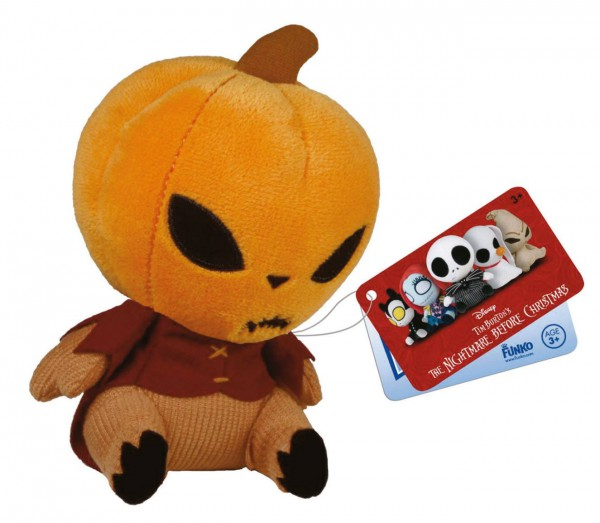 Nightmare Before Christmas Mopeez Plüschfigur Pumpkin King 12 cm