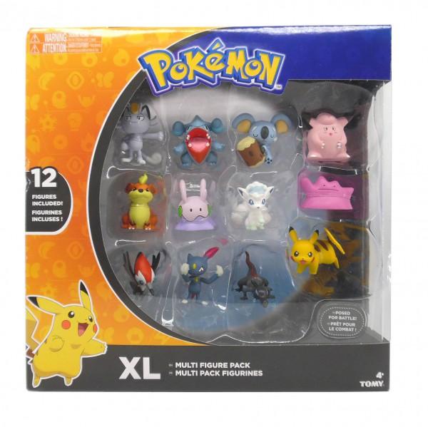 Pokemon Minifiguren 12er XL Multi Pack D4 3-5 cm