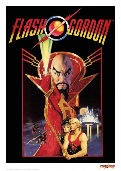 Flash Gordon Kunstdruck Classic 42 x 30 cm