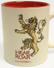 Game of Thrones Tasse Lannister weiß
