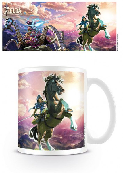 Legend of Zelda Breath of the Wild Tasse Guardian Chase