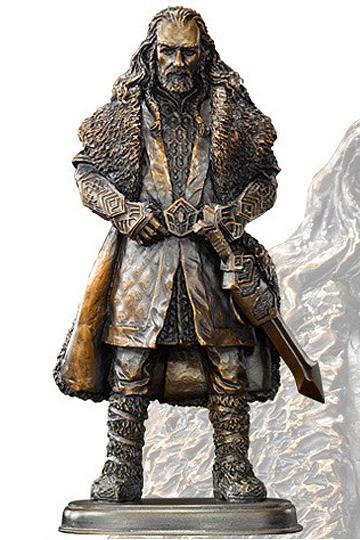 Der Hobbit Bronze Statue Thorin Eichenschild 17 cm