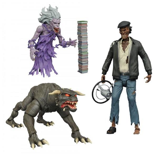 Ghostbusters Select Actionfiguren 18 cm Serie 5 Sortiment (6) --- BESCHAEDIGTE VERPACKUNG
