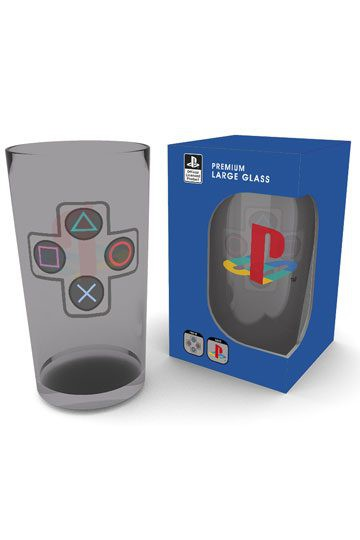 Playstation Premium Glas Buttons