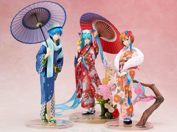 Character Vocal Series 01 Statue 1/8 Kaito Hanairogoromo Ver. 25 cm