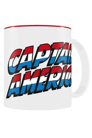 Marvel Comics Tasse Captain America Logo