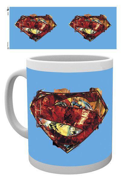 DC Comics Tasse Superman Logo Art