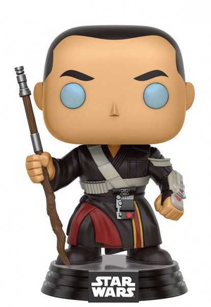 Star Wars Rogue One POP! Vinyl Wackelkopf-Figur Chirrut Imwe 9 cm