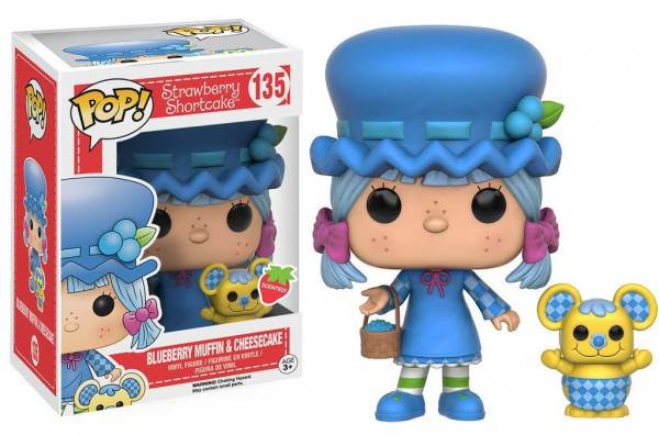 Emily Erdbeer POP! Animation Vinyl Figur Blueberry Muffin & Cheesecake 9 cm