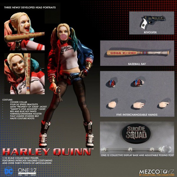Suicide Squad Actionfigur 1/12 Harley Quinn 16 cm