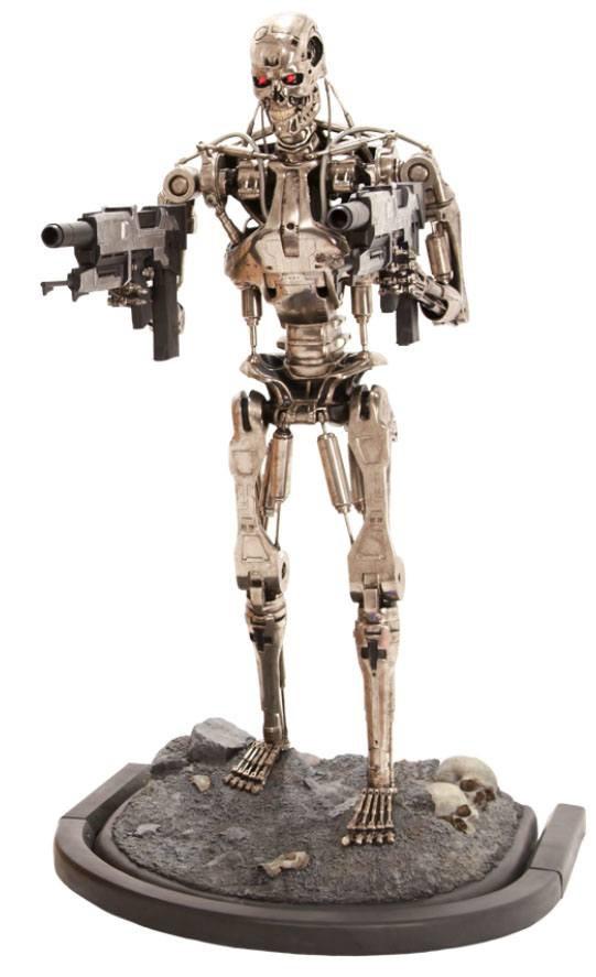 Terminator 2 Statue 1/1 T-800 Endoskeleton Version 2 190 cm