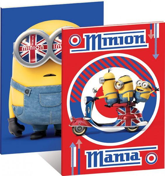 Minions Notizbücher 2er-Set A5 Minion Mania