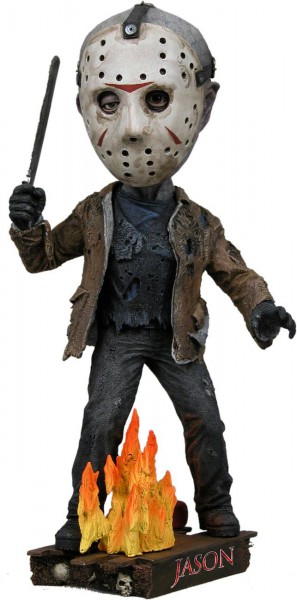 Freitag der 13. Head Knocker Wackelkopf-Figur Jason 18 cm
