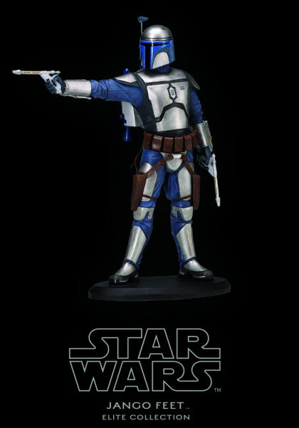 Star Wars Episode II Angriff der Klonkrieger Elite Collection Statue Jango Fett 19 cm