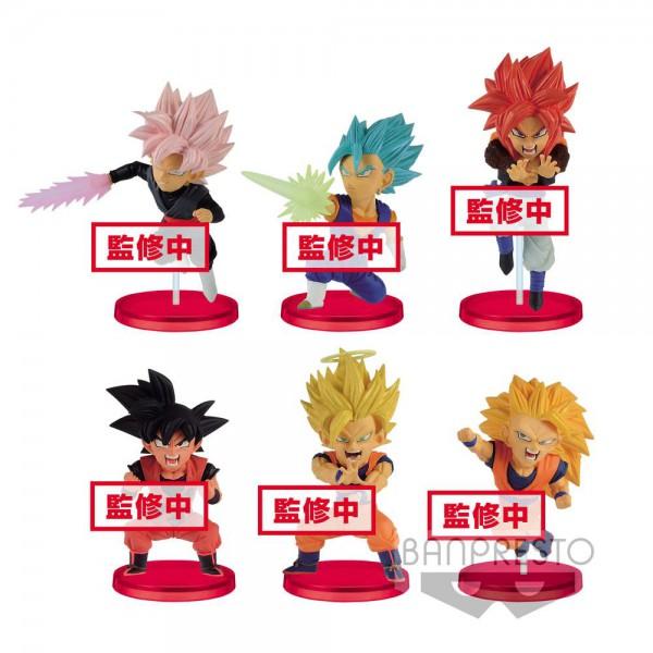 Dragonball Super WCF ChiBi Minifiguren 7 cm Sortiment Saiyans Bravery Vol. 1 (28)