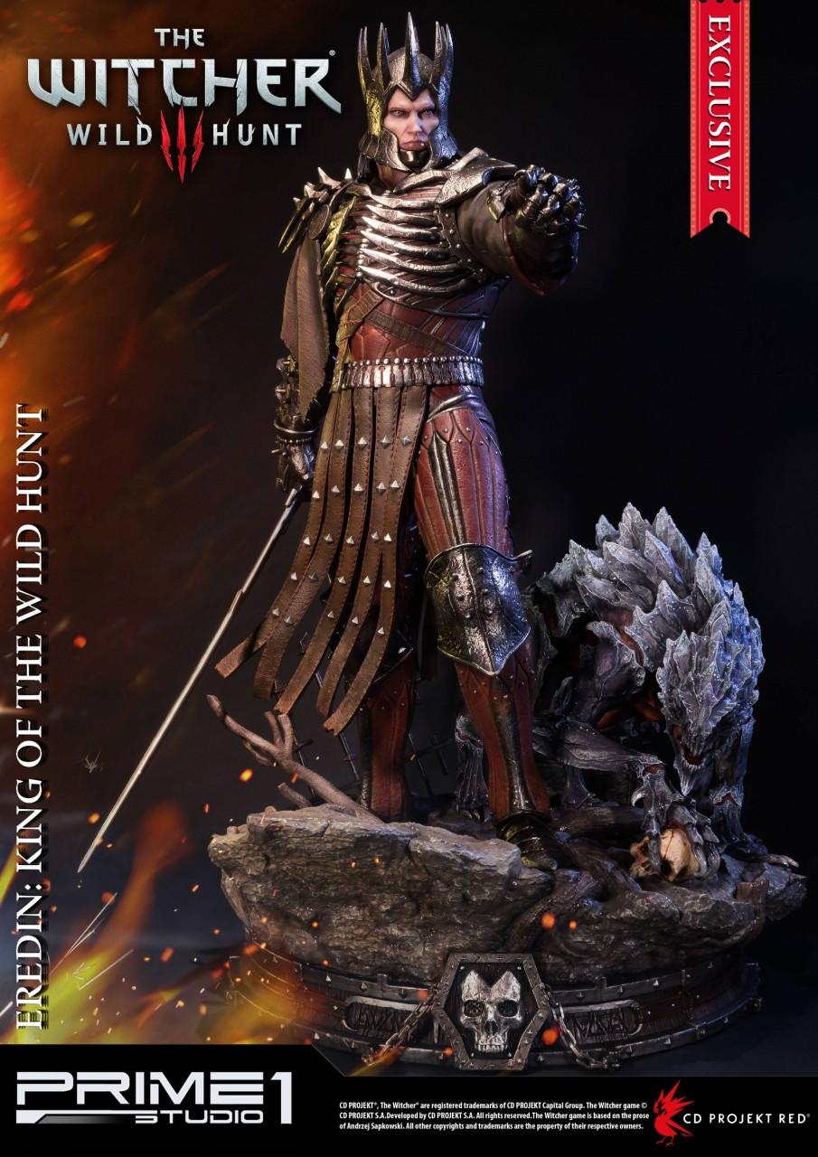 Witcher 3 Wild Hunt Statuen Eredin & Eredin Exclusive 61 cm Sortiment (3)