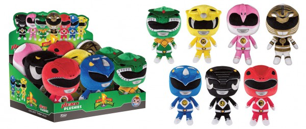 Power Rangers Hero Plushies Plüschfiguren 15 cm Display (9)