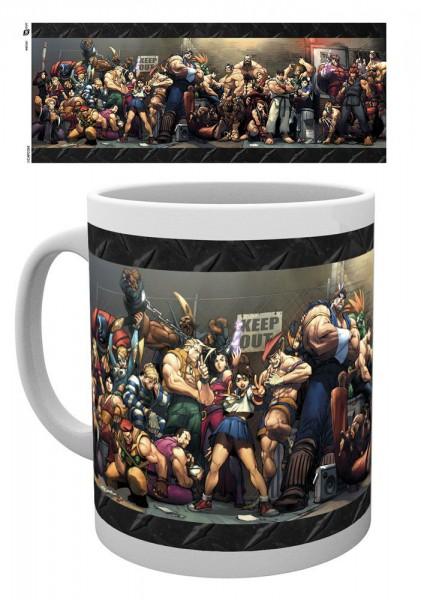 Street Fighter Tasse Fight