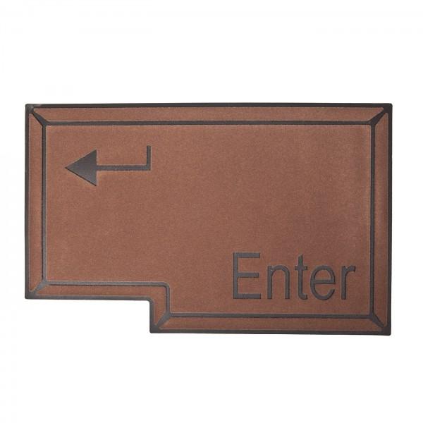 Fußmatte: Enter