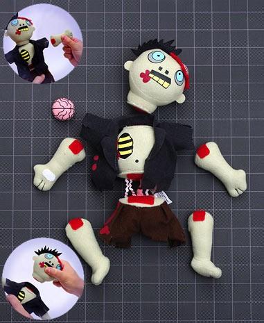 Dismember Me Zombie Plüschfigur