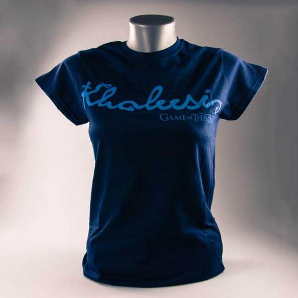 Game of Thrones Khaleesi Damen T-Shirt, blau