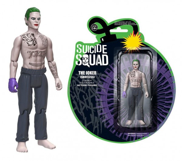 Suicide Squad Actionfigur The Joker (Shirtless) 12 cm