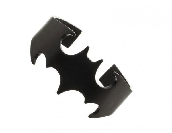 DC Comics Edelstahl-Armband Batman Logo