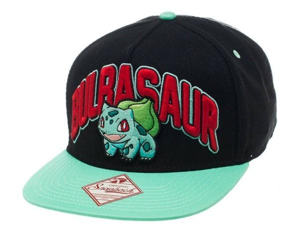 Pokemon Snap Back Hip Hop Cap Bulbasaur