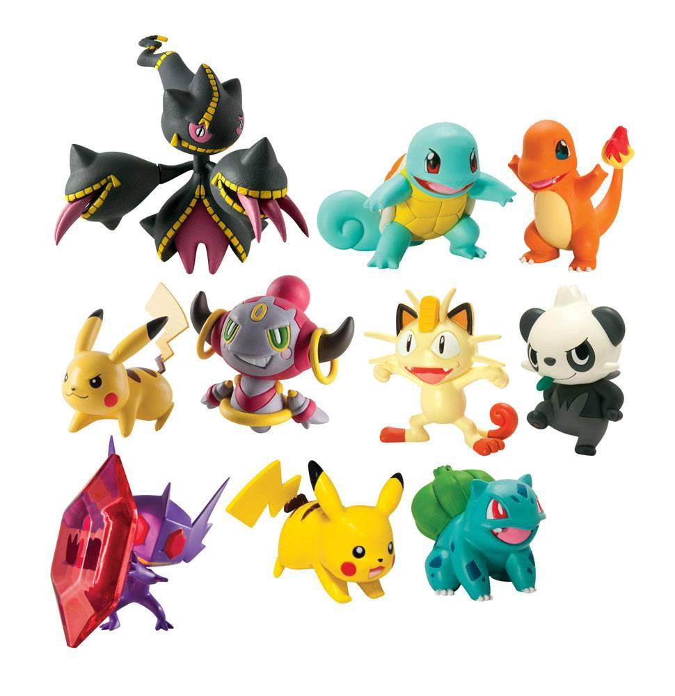 Pokemon Actionfiguren 6 cm Sortiment (8)