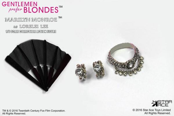 Blondinen bevorzugt My Favourite Legend Actionfigur 1/6 Marilyn Monroe Pink Dress Ver. 29 cm
