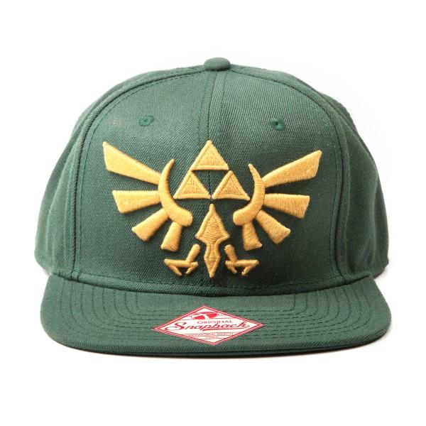Nintendo goldenes Zelda Logo Snap Back Cap