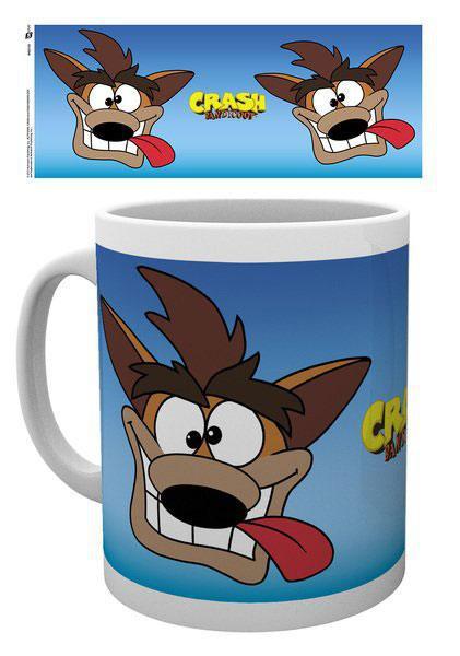 Crash Bandicoot Tasse Cartoon Crash
