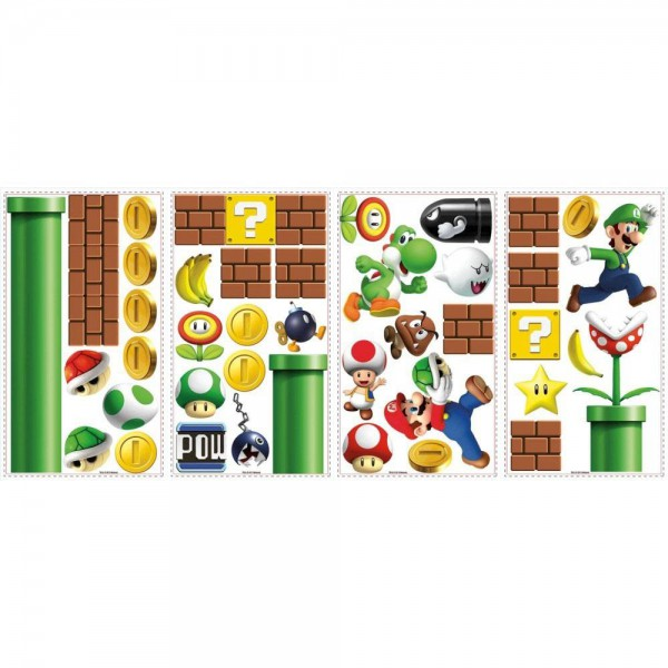 Nintendo Giant Vinyl Sticker Super Mario Bros.