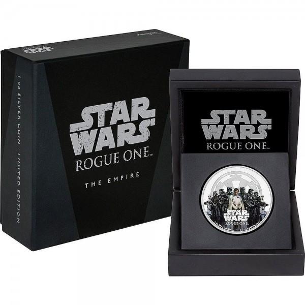 Star Wars Rogue One 1 Oz Silbermünze Empire