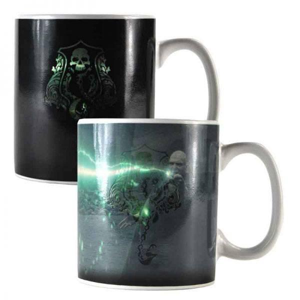 Harry Potter Tasse mit Thermoeffekt Voldemort