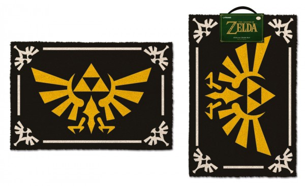 Legend of Zelda Fußmatte Triforce 40 x 60 cm