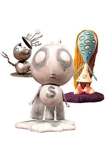 Tim Burton PVC Figuren Set #1 Stain Boy 10 cm