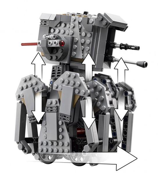 LEGO® Star Wars(TM) Episode VIII: First Order Heavy Scout Walker(TM)
