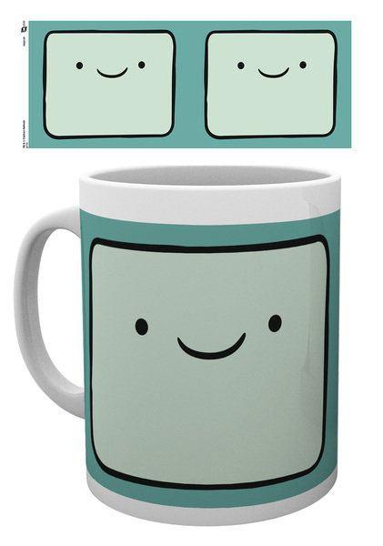Adventure Time Tasse BMO Face