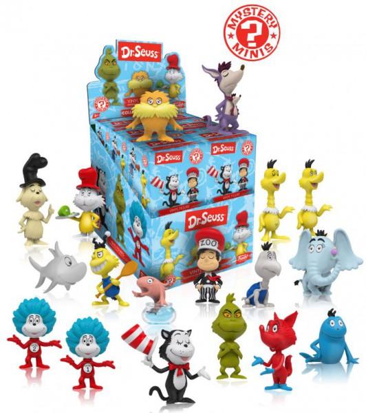 Dr. Seuss Mystery Minis Vinyl Minifiguren 6 cm Display (12)