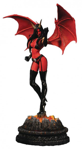 Women of Dynamite Purgatori Statue Purgatori Diamond Artist Proof Edition 35 cm