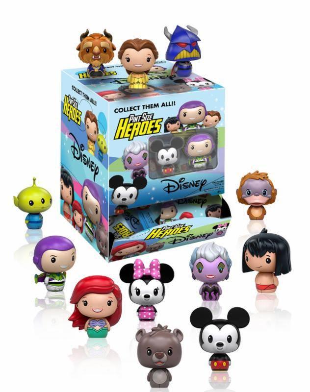 Disney Pint Size Heroes Minifiguren 6 cm Display Variant Mix (24)