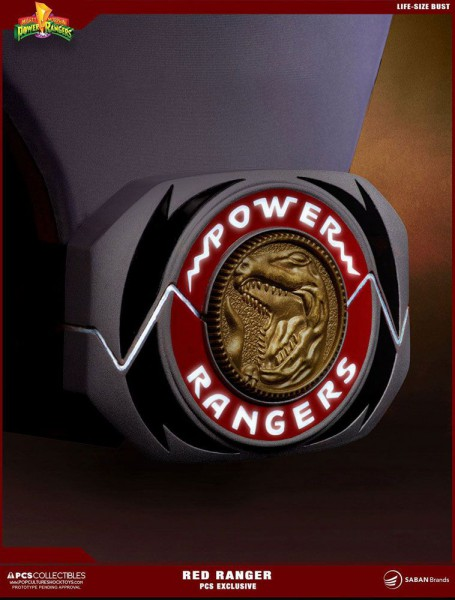 Power Rangers Büste 1/1 Red Ranger PCS Exclusive 63 cm