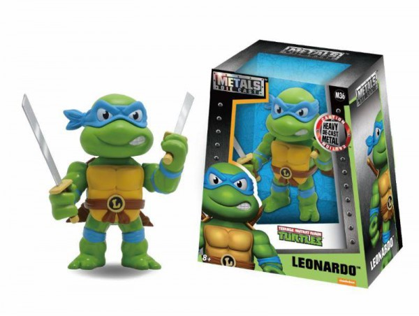 Teenage Mutant Ninja Turtles Metals Diecast Minifigur Leonardo 10 cm