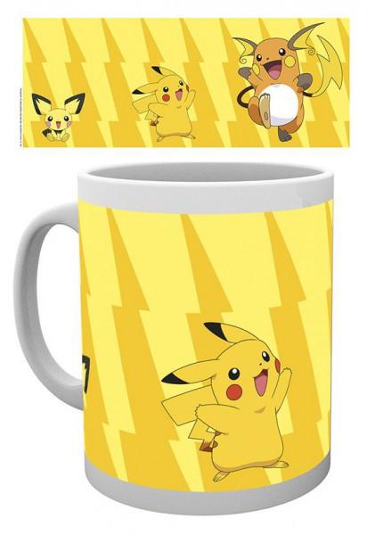 Pokemon Tasse Pikachu Evolve