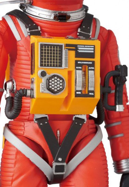 2001: Odyssee im Weltraum MAF EX Actionfigur Space Suit Orange Ver. 16 cm