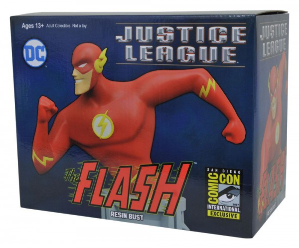 Justice League Animated Büste The Flash SDCC 2017 Exclusive 15 cm