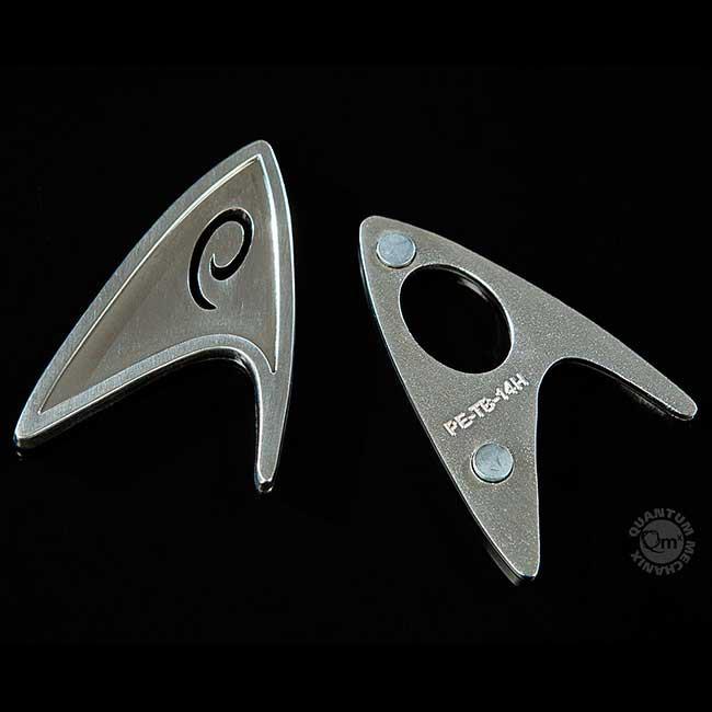 Star Trek (2009) Sternenflottenabzeichen Technik