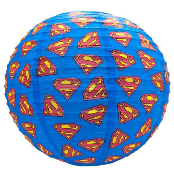 DC Comics Lampenschirm aus Papier Superman Logos 30 cm